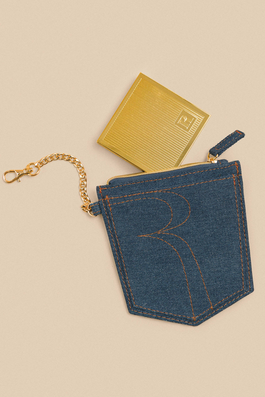 The denim pouch